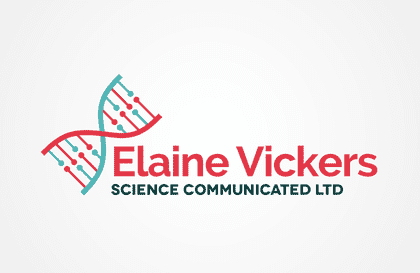 science communicated logo design